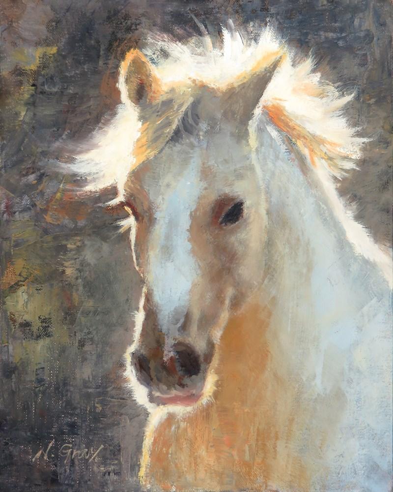 """Laura in the Morning Light"" original fine art by Naomi Gray"