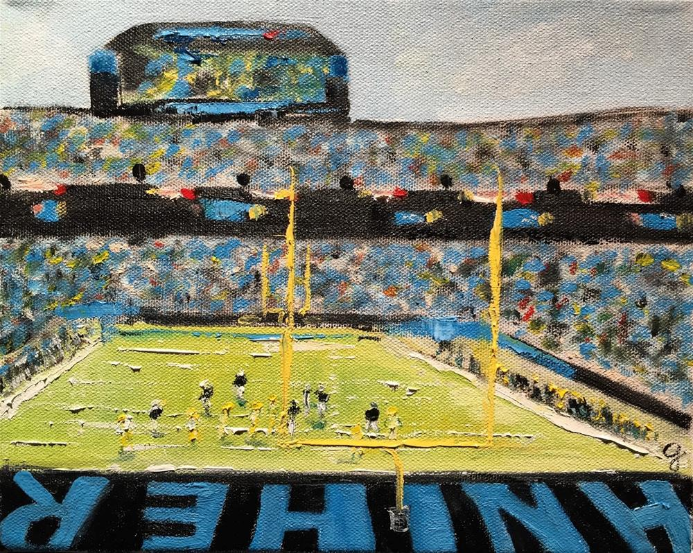 """KEEP POUNDING!"" original fine art by Gayle Lambeth"