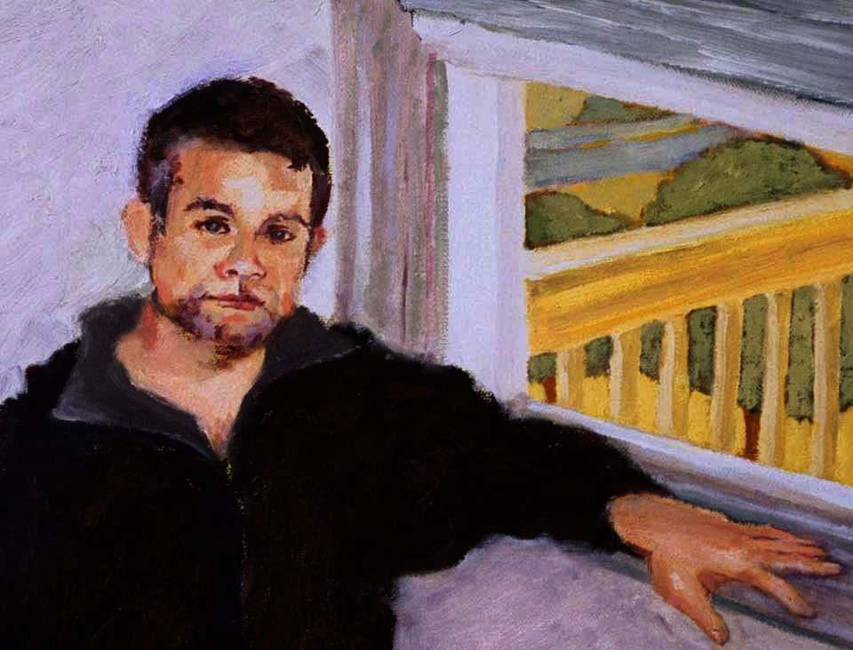"""""""Joe"""" original fine art by Marie Lynch"""