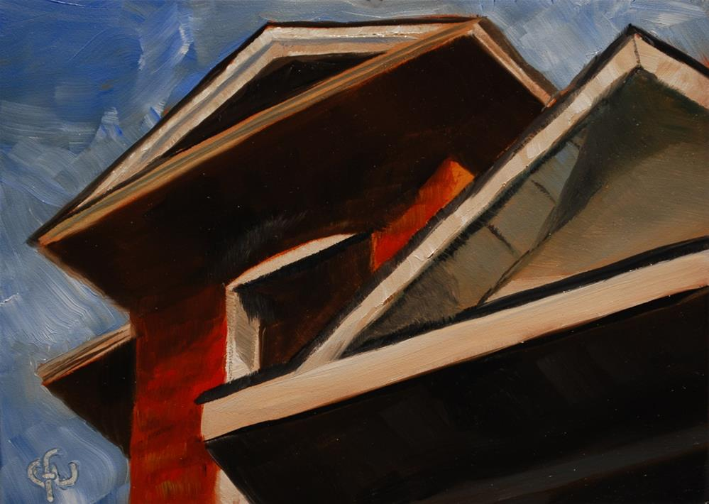"""""""View to the Roof"""" original fine art by Gary Westlake"""