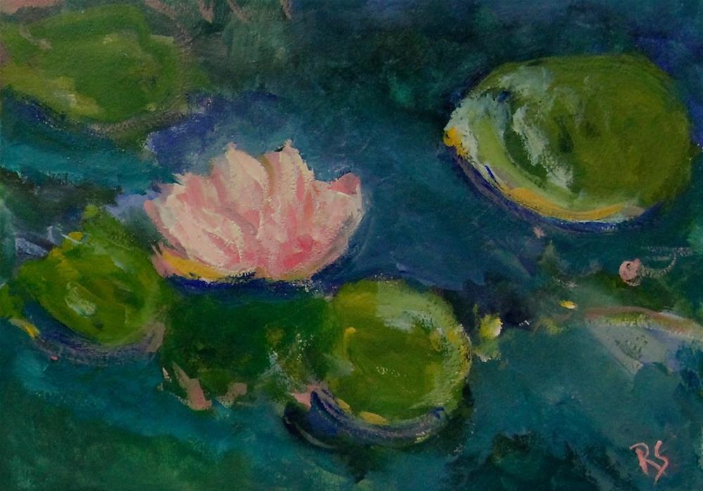 """""""Solitude"""" original fine art by Roberta Schmidt"""