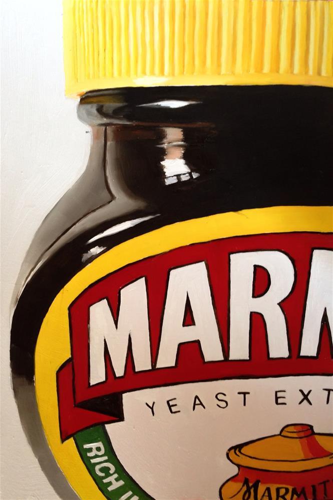 """Marmite 1"" original fine art by James Coates"