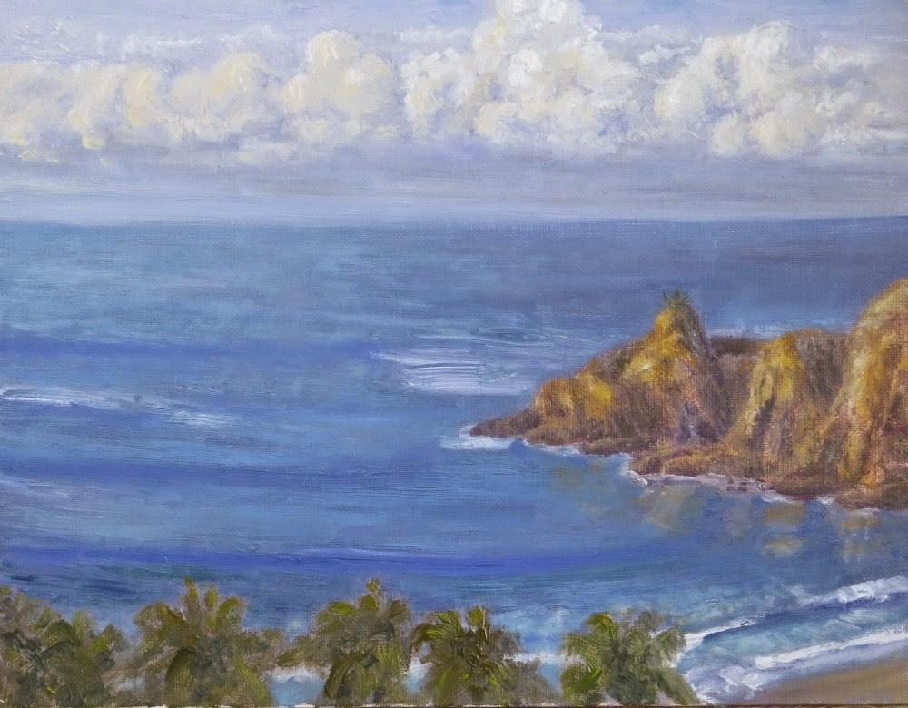 """Mexican Morning"" original fine art by Richard Kiehn"
