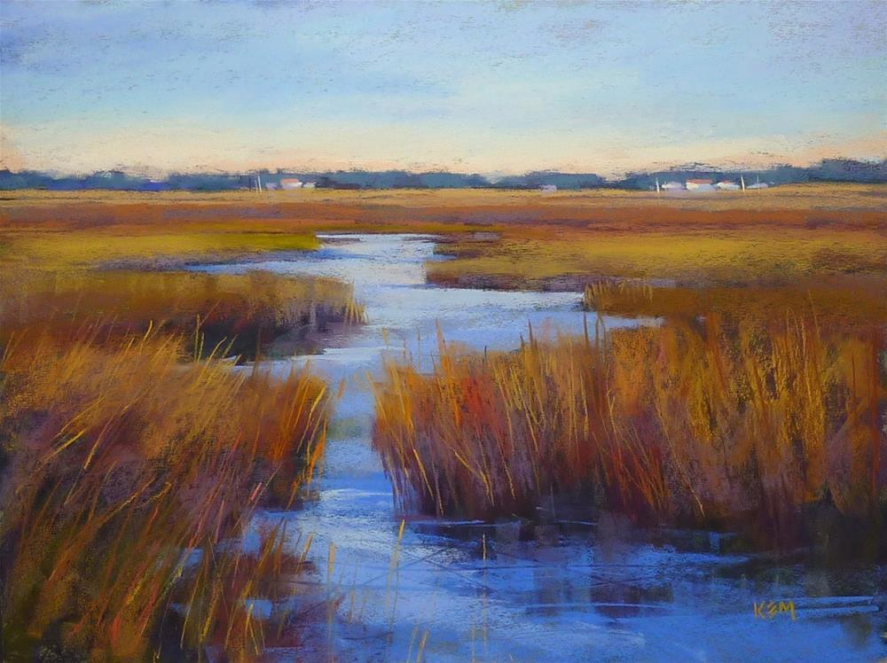 """Loosening Up Your Paintings Tip #1"" original fine art by Karen Margulis"