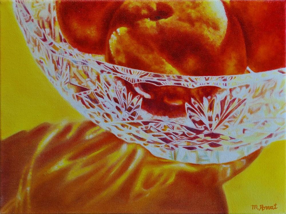 """""""Sunshine Clementine"""" original fine art by Margaret Horvat"""
