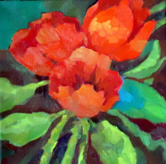 """Spring Hope"" original fine art by Laurie Mueller"