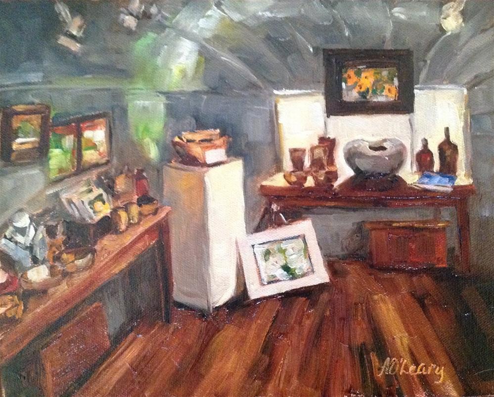 """""""Roxy"""" original fine art by Alice O'Leary"""