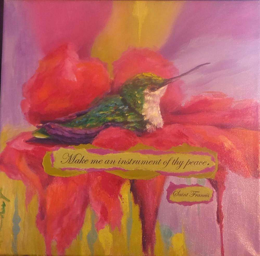 """""""Kindness"""" original fine art by Susie Monzingo"""