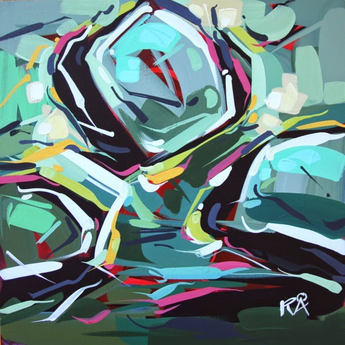 """""""Shapes & Movement 29"""" original fine art by Roger Akesson"""