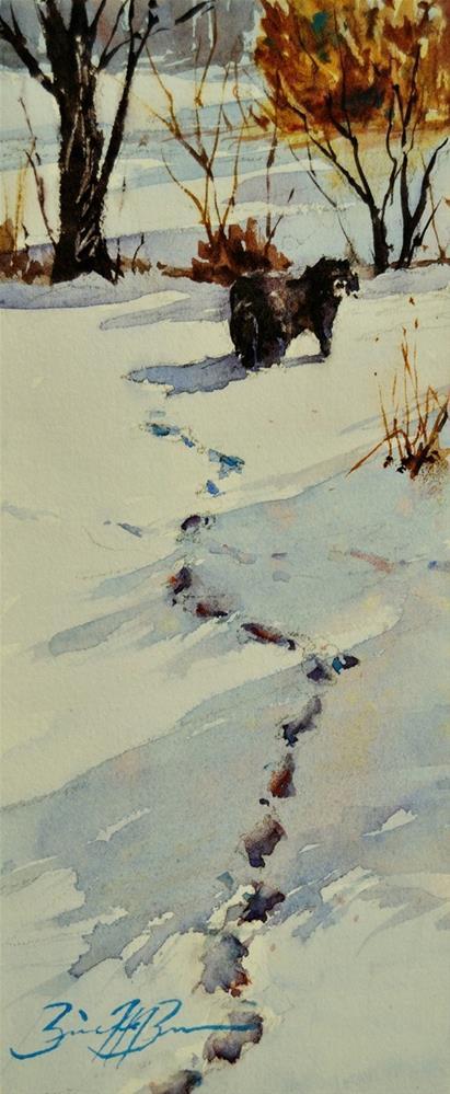 """""""Wanderings Again"""" original fine art by Brienne M Brown"""