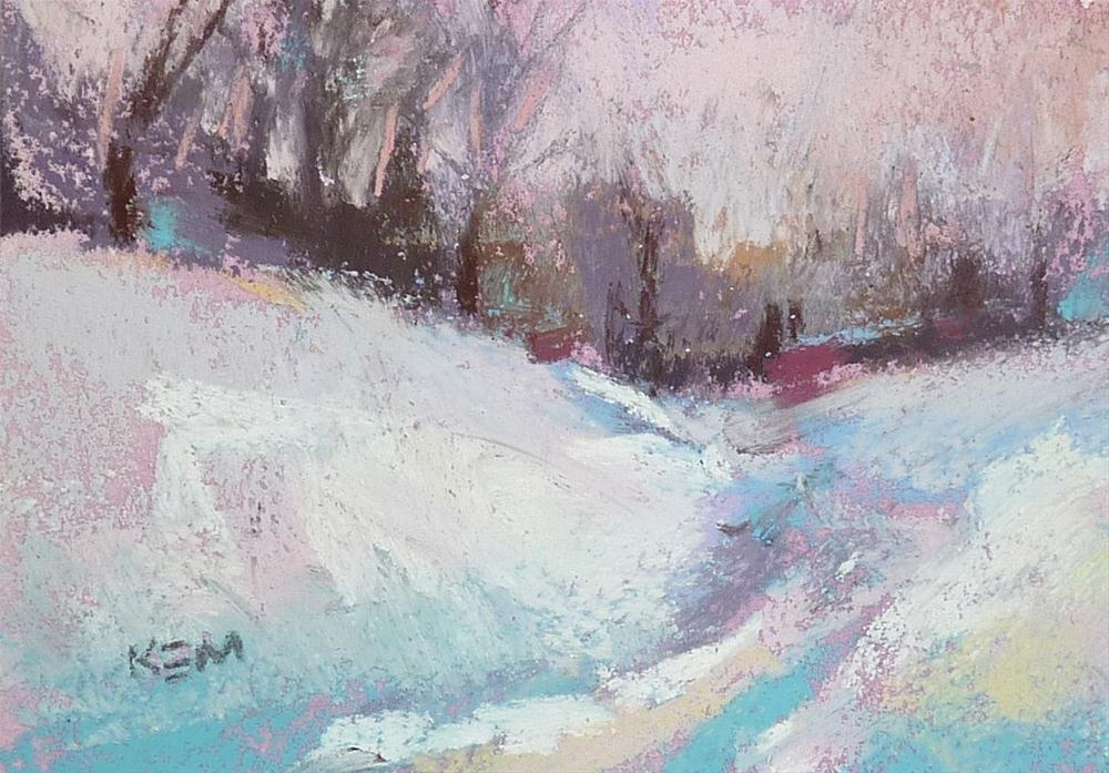 """""""The Trick for Working with a Limited Pastel Palette"""" original fine art by Karen Margulis"""