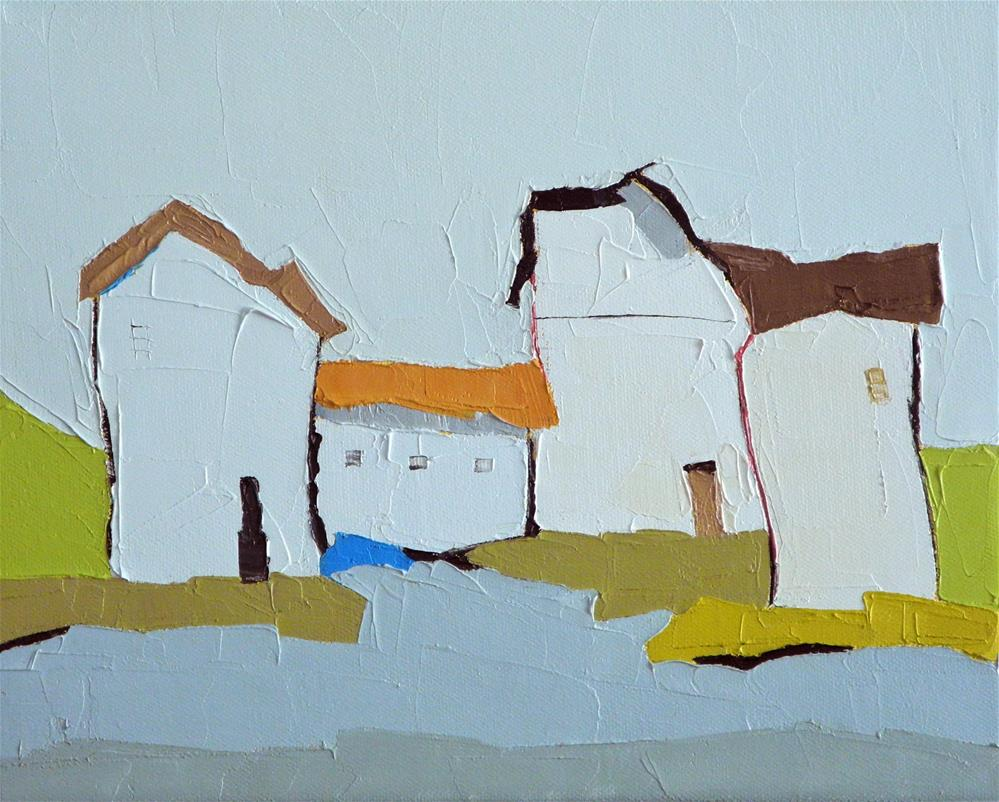 """Bright Quartet"" original fine art by Donna Walker"