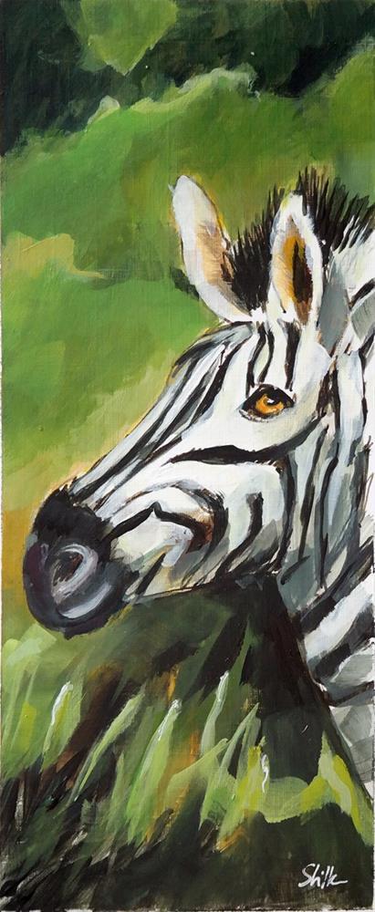 """2533 Zebra Stripes"" original fine art by Dietmar Stiller"