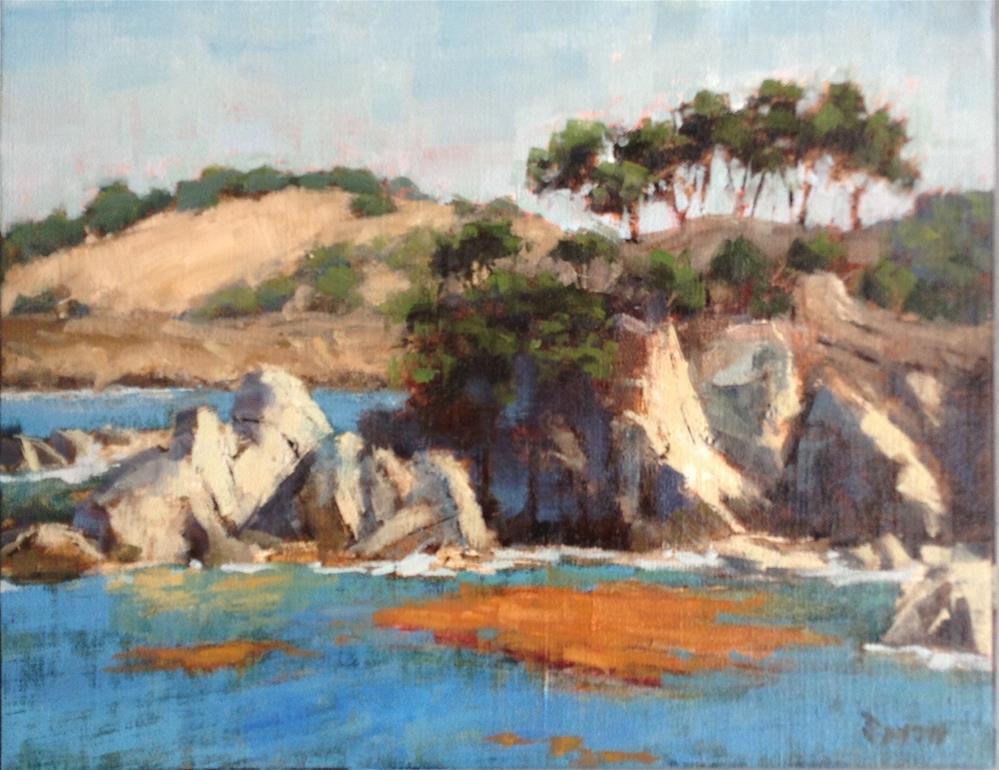 """Bluefish Cove"" original fine art by Barbie Smith"