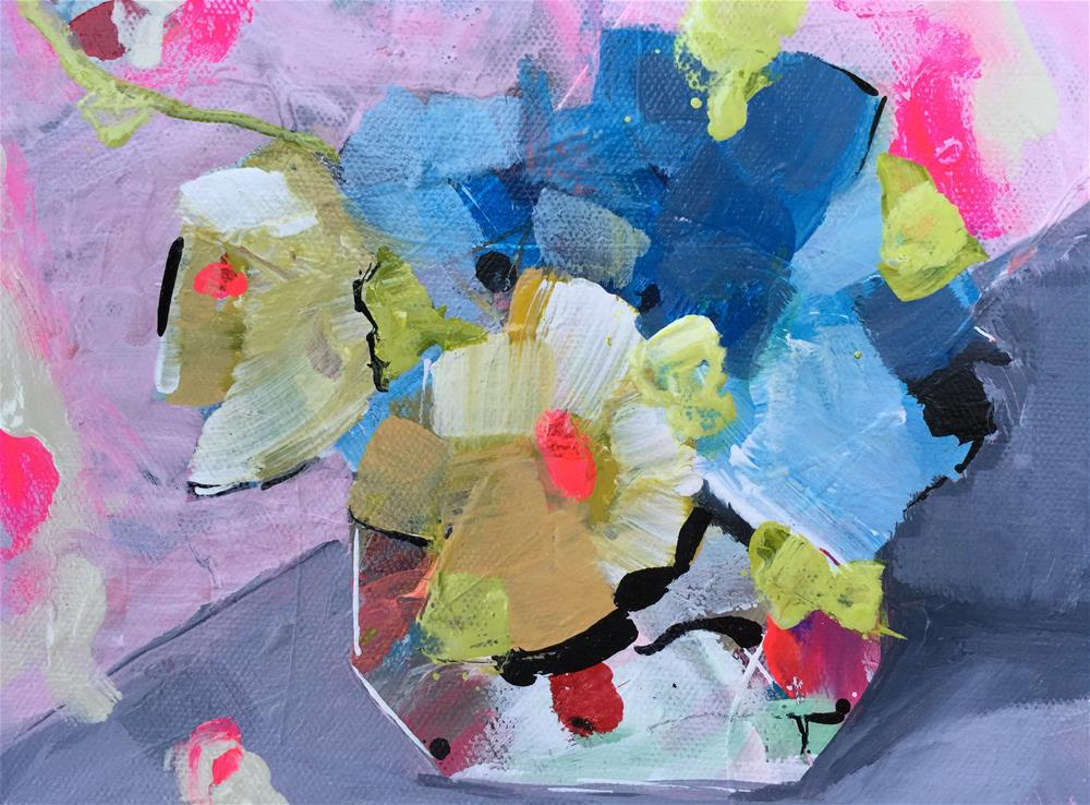 """Flowers_OCT172015"" original fine art by Jenny Doh"