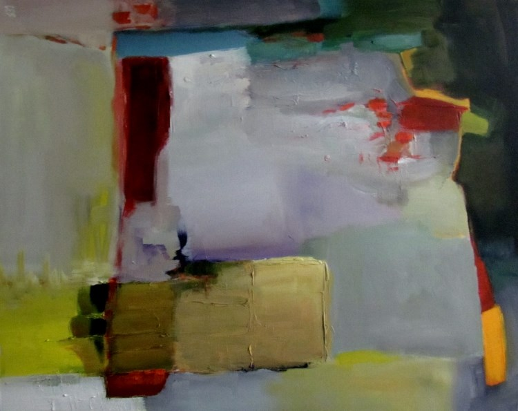 """Commissioned Painting: Plasticity"" original fine art by ~ces~ Christine E. S. Code"