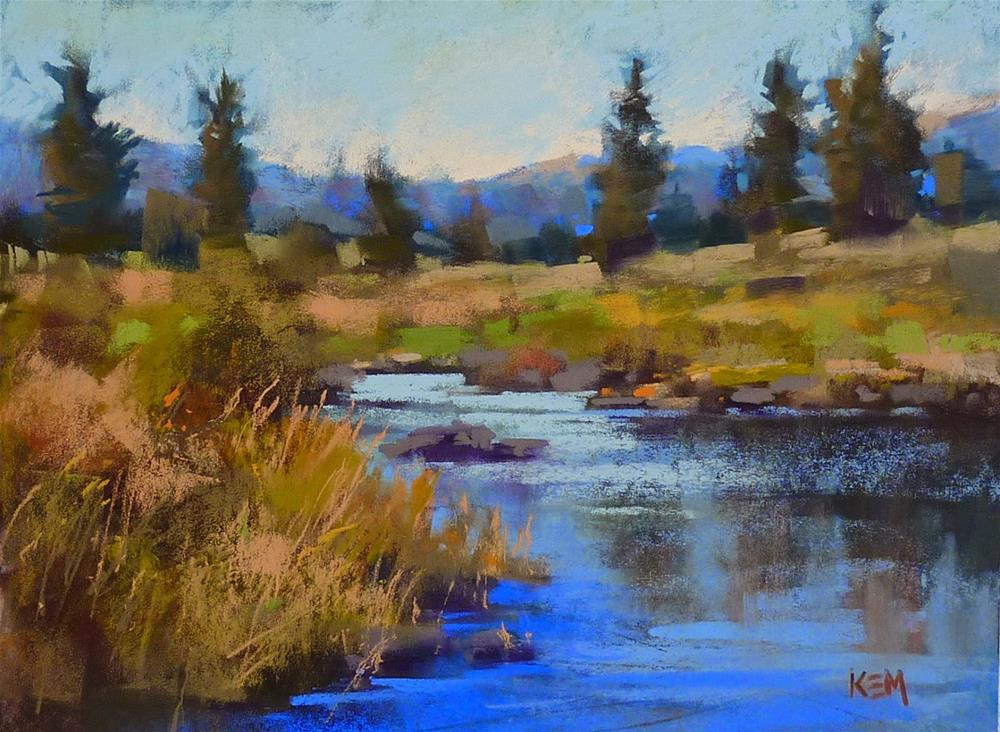 """""""Why Bother with a Wet Underpainting?"""" original fine art by Karen Margulis"""