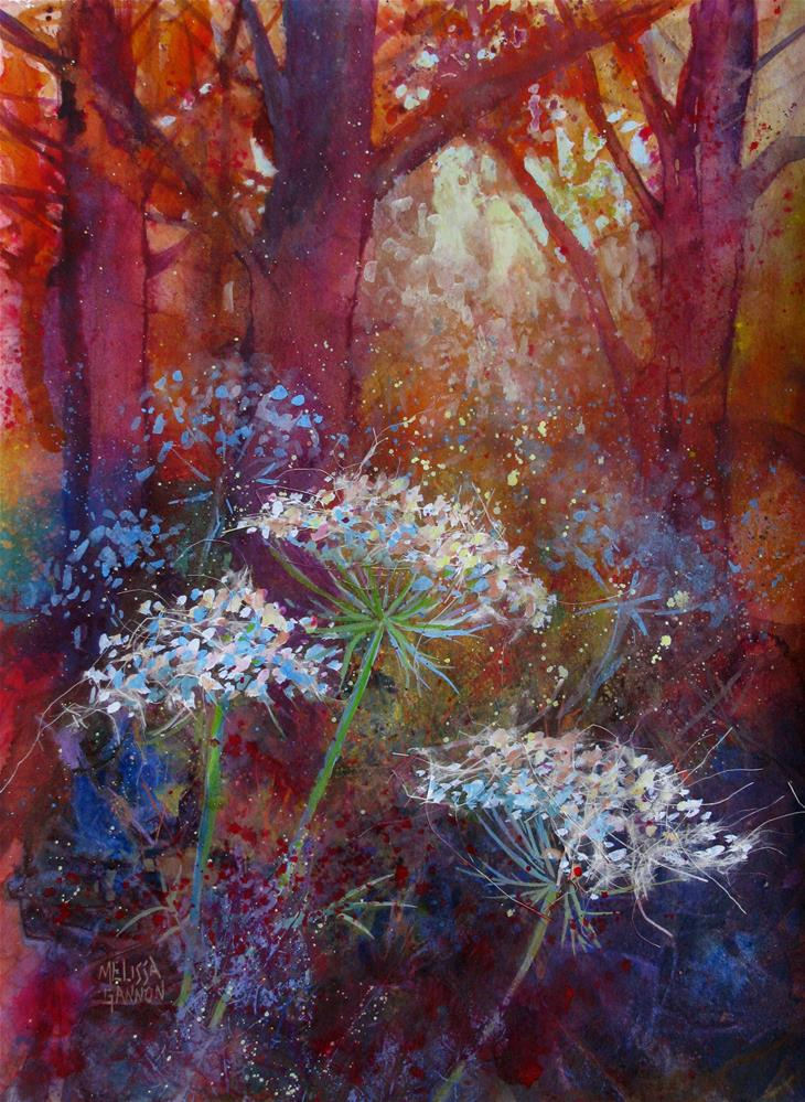 """Trees & Lace"" original fine art by Melissa Gannon"