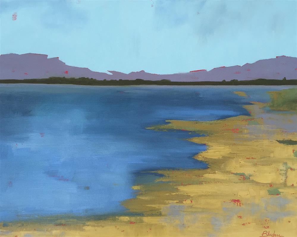 """The Summer"" original fine art by Janet Bludau"