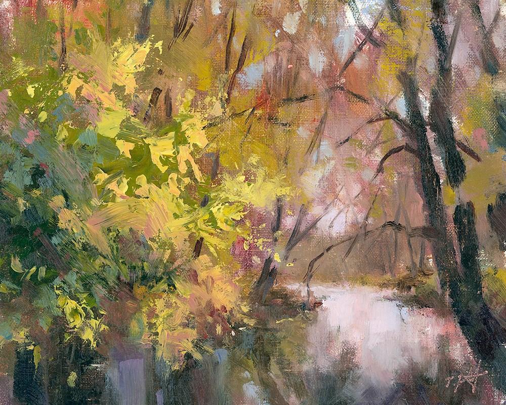 """Rochester Stoney Creek"" original fine art by Todd Zuithof"