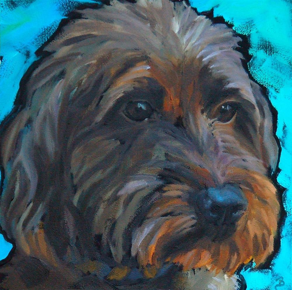 """Riley"" original fine art by Philla Barkhorn"