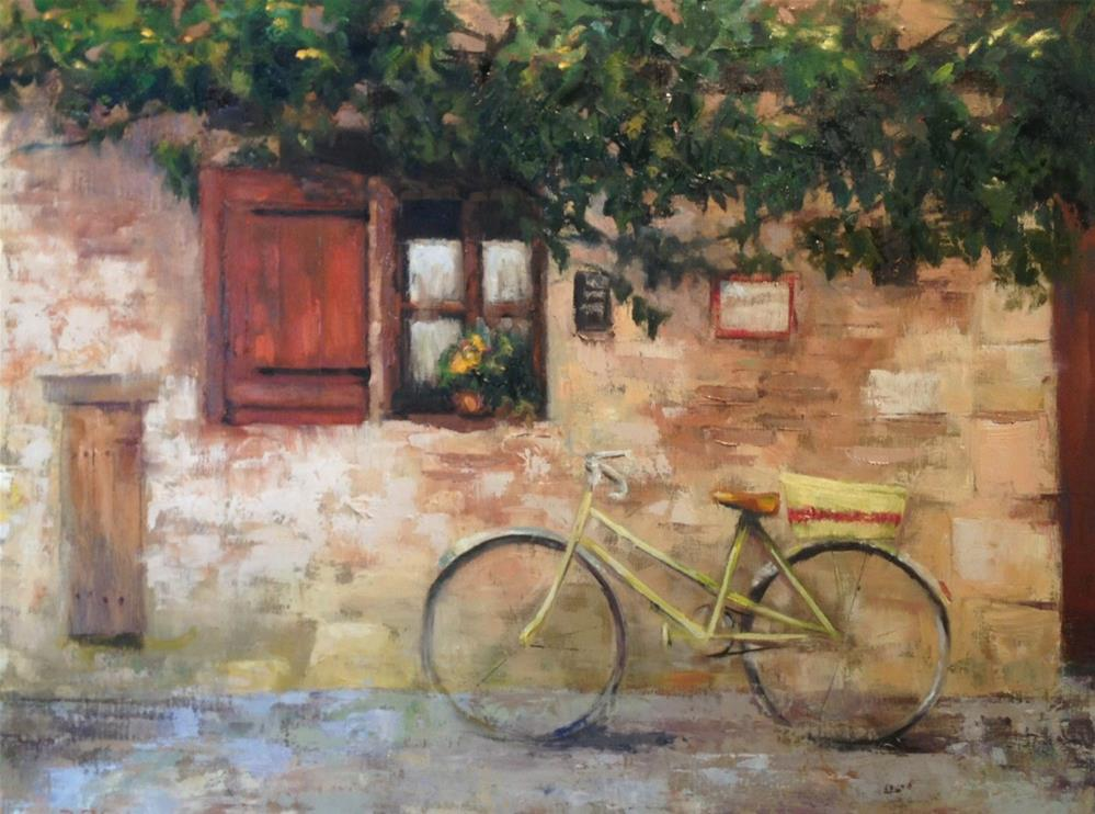 """Serrano Debergiac B&B"" original fine art by Barbara Fluty"
