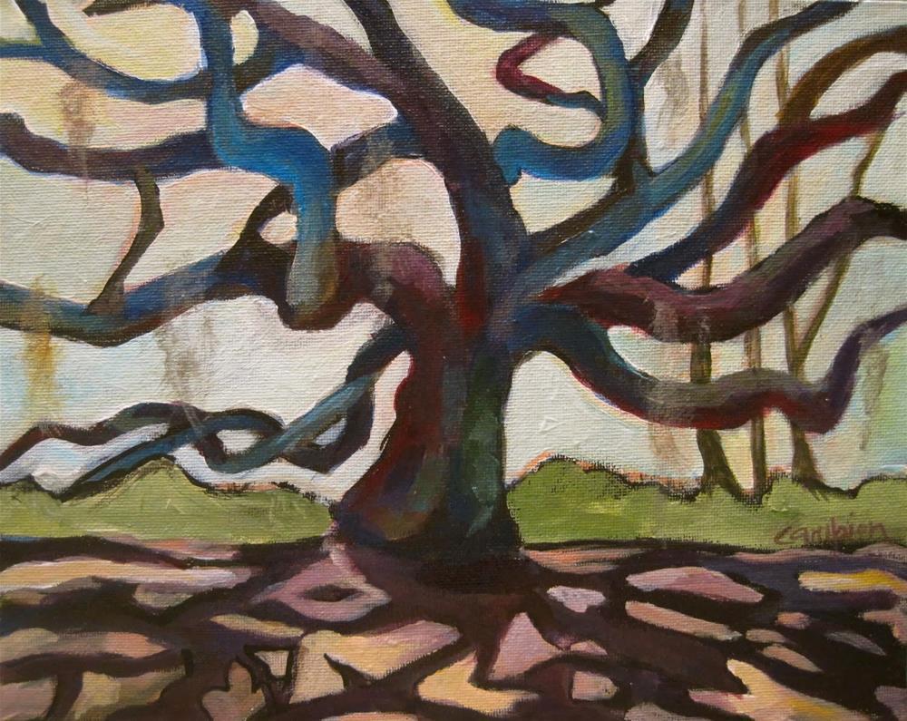 """201 Open Arms"" original fine art by Diane Campion"