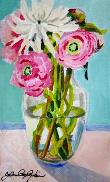 """Wedding Flowers"" original fine art by JoAnne Perez Robinson"