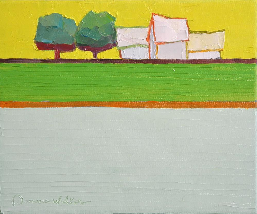 """Symphony in Yellow"" original fine art by Donna Walker"