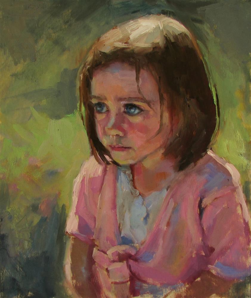 """""""Ella"""" original fine art by Dana Cooper"""