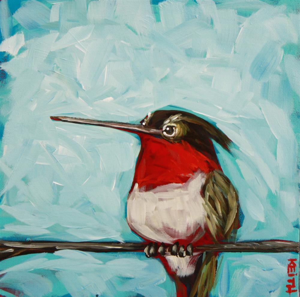 """Toodles"" original fine art by Kandice Keith"