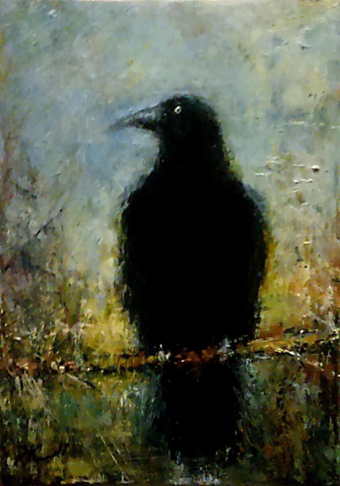 """Everybody Loves Ravens"" original fine art by Bob Kimball"
