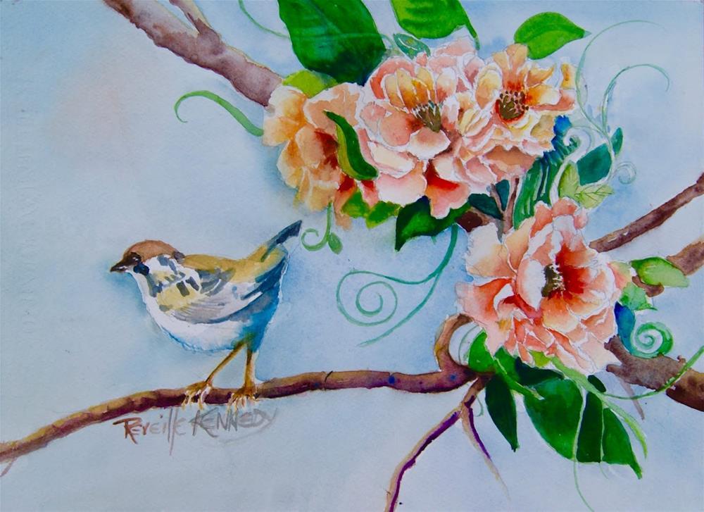 """Out On a LImb"" original fine art by Reveille Kennedy"