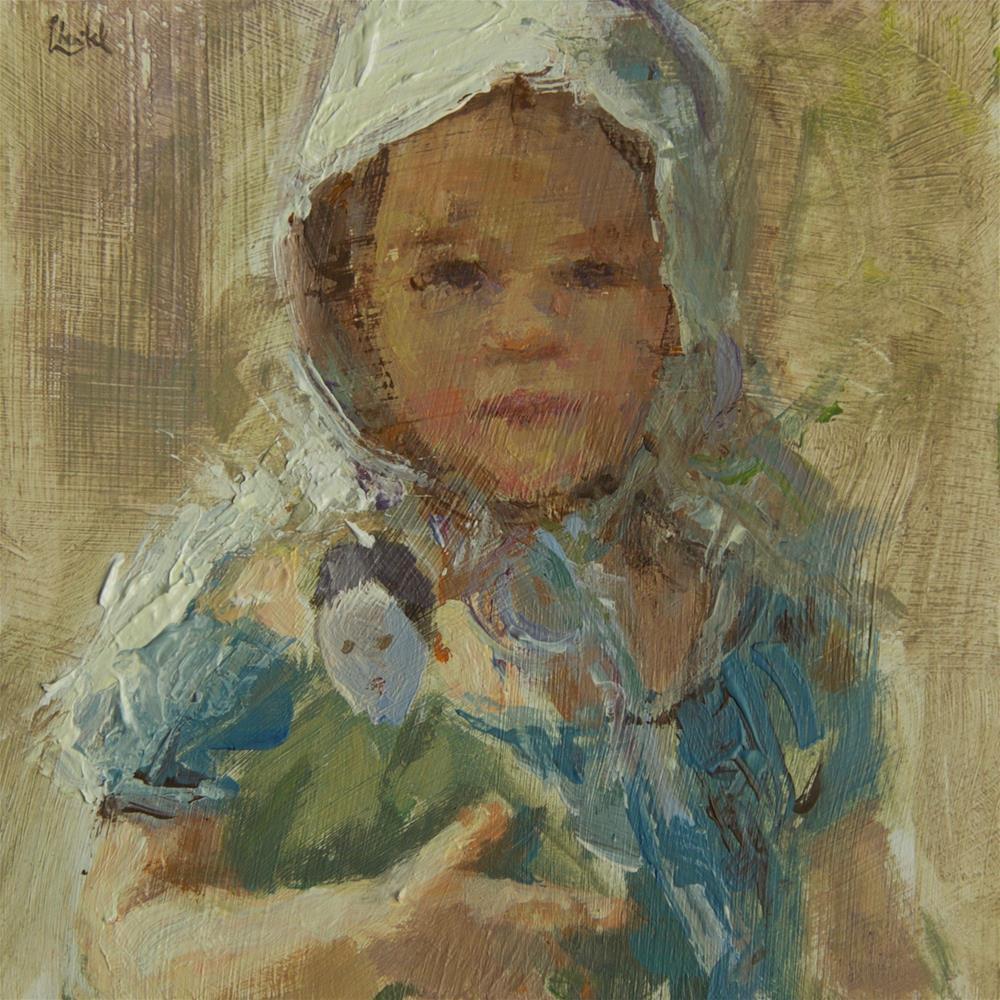 """Baby Doll"" original fine art by Chantel Barber"
