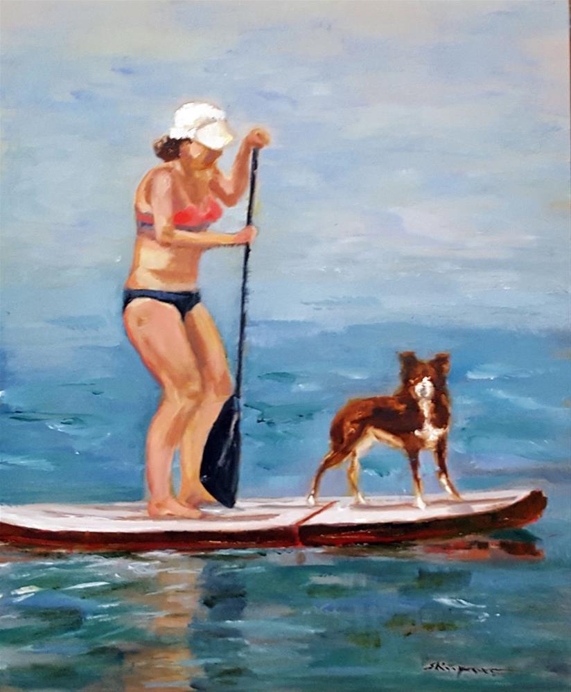 """""""Balancing Act"""" original fine art by Shelley Koopmann"""