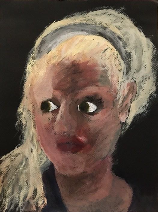 """Surrounded"" original fine art by Madeleine Hoffmeister"