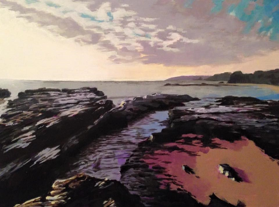 """Tidepools"" original fine art by Jim Musil"