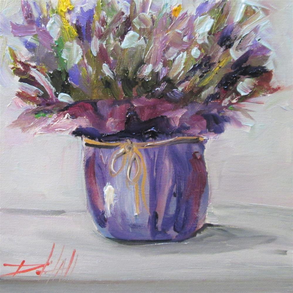 """Lavender"" original fine art by Delilah Smith"