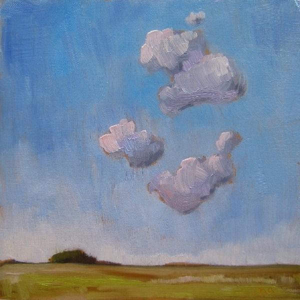 """Pile Up"" original fine art by Nicki Ault"