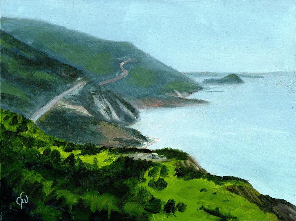 """Cape Breton Trail"" original fine art by Gary Westlake"
