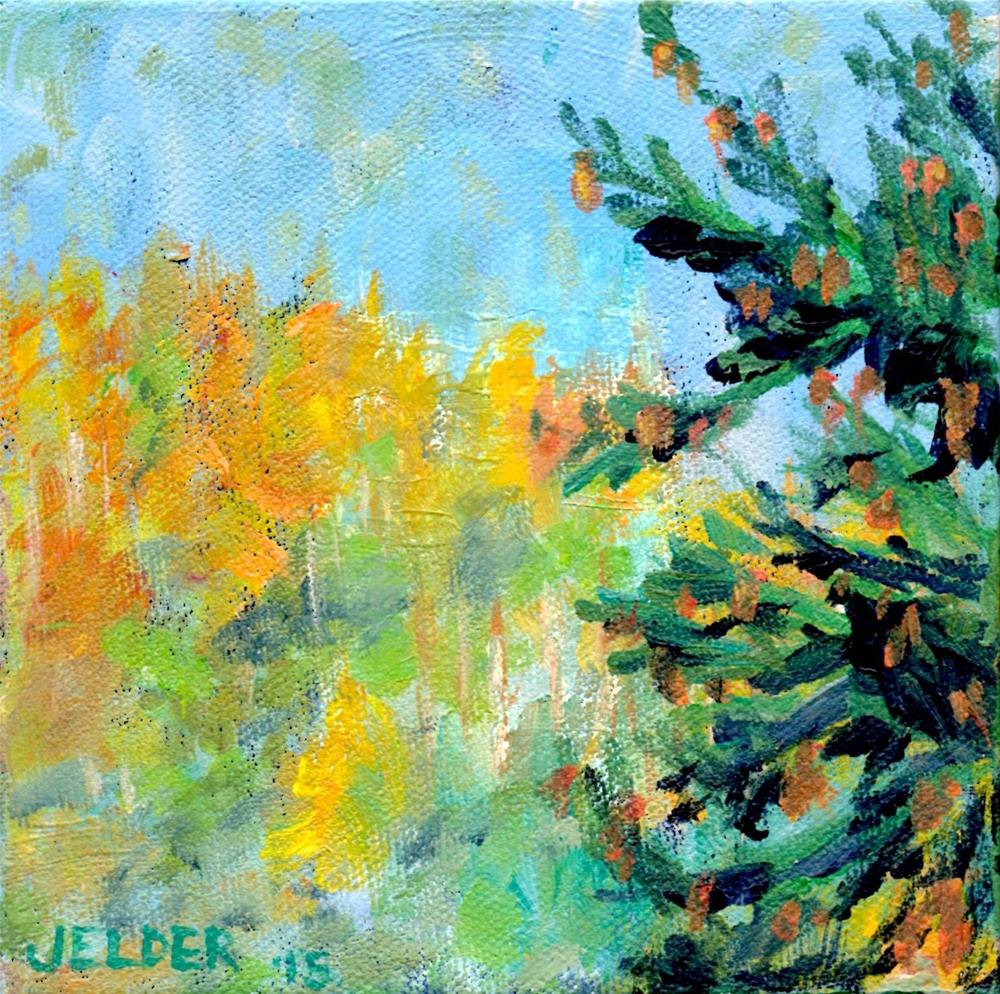 """Looking South"" original fine art by Judith Elder"