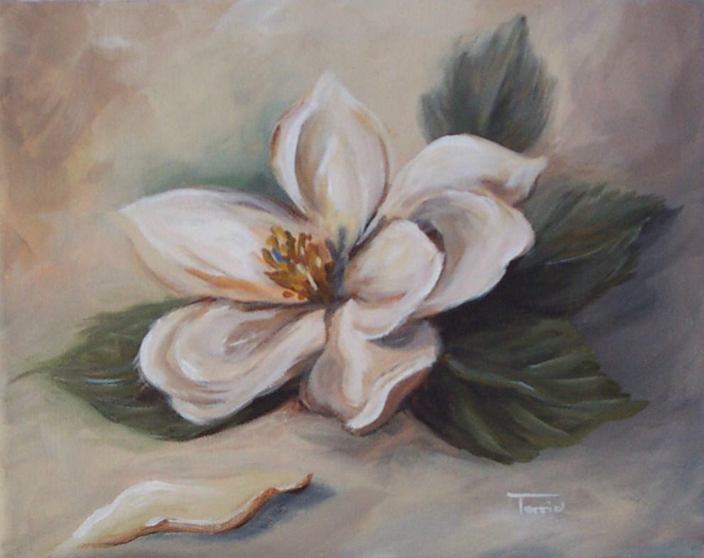 """Magnolia "" original fine art by Torrie Smiley"