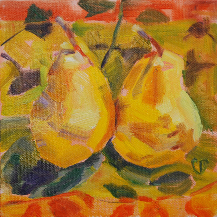 """The Perfect Pair"" original fine art by Carol DeMumbrum"