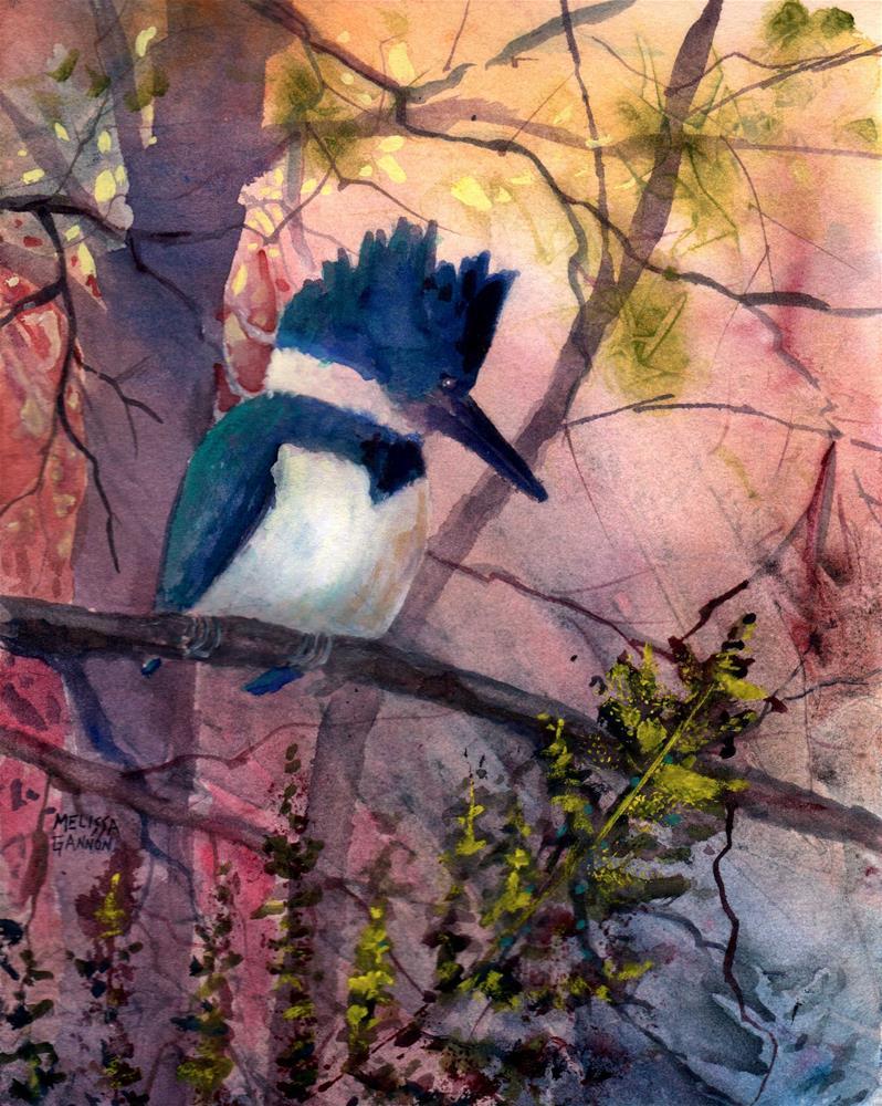 """A Quiet Moment"" original fine art by Melissa Gannon"