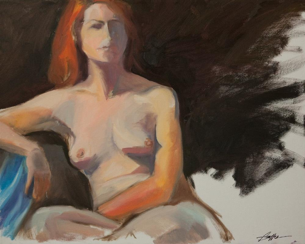 """""""Untitled"""" original fine art by Beth Bathe"""