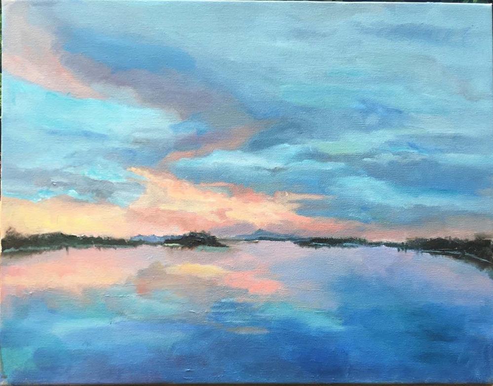"""dawn"" original fine art by Sarah Ross"