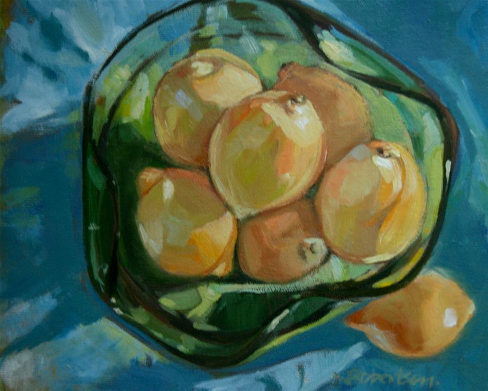 """Left Out"" original fine art by Jane Robertson"