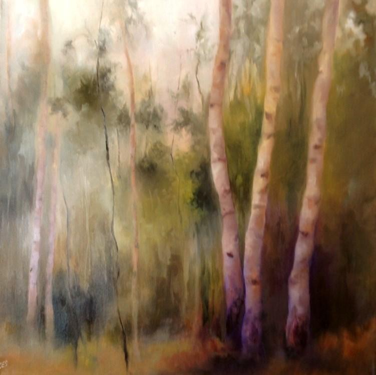 """""""Enchantment"""" original fine art by Christine E. S. Code"""