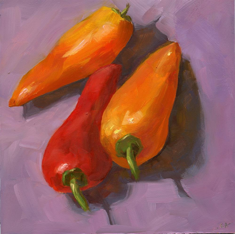 """Three amigos"" original fine art by Cynthia Armstrong"
