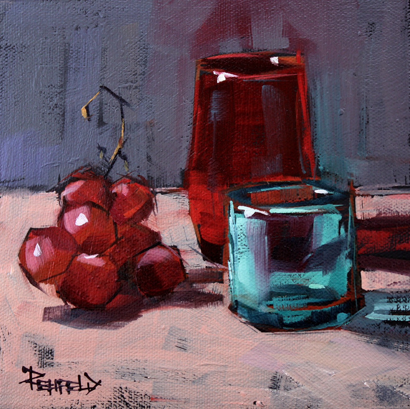 """""""Pearl District Composition"""" original fine art by Cathleen Rehfeld"""